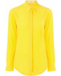 Chemise de ville jaune Givenchy