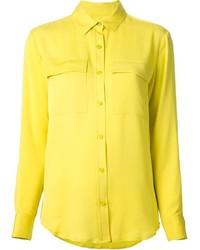 Chemise de ville jaune MICHAEL Michael Kors