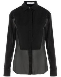 Chemise de ville noire Givenchy