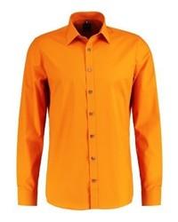 Chemise de ville orange Olymp