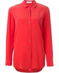 Chemise de ville rouge original 1279419