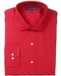 Chemise de ville rouge