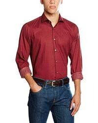Chemise de ville rouge Strellson Premium