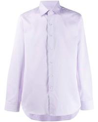 Chemise de ville violet clair Canali