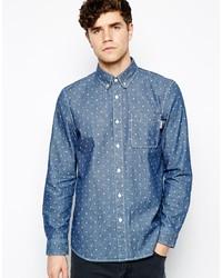 Chemise en jean á pois bleue Jack Wills