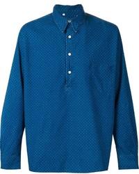 Chemise en jean á pois bleue Levi's