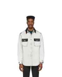 Chemise en jean blanche et noire Alexander Wang