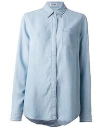 Chemise en jean bleu clair Acne