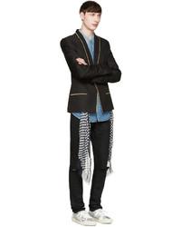 Chemise en jean bleu clair Saint Laurent