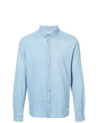 Chemise en jean bleu clair Cuisse De Grenouille