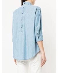 Chemise en jean bleu clair R13