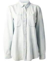 Chemise en jean bleu clair Denim & Supply Ralph Lauren