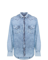 Chemise en jean bleu clair Jacob Cohen