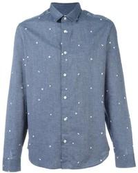 Chemise en jean bleu clair Kenzo