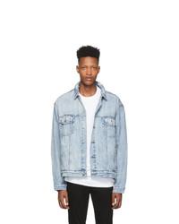 Chemise en jean bleu clair Ksubi
