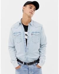 Chemise en jean bleu clair Levi's
