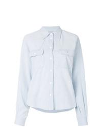 Chemise en jean bleu clair MM6 MAISON MARGIELA