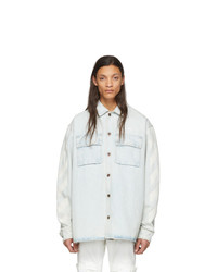Chemise en jean bleu clair Off-White
