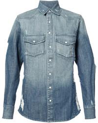 Chemise en jean bleu clair United Rivers