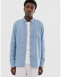 Chemise en jean bleu clair Weekday