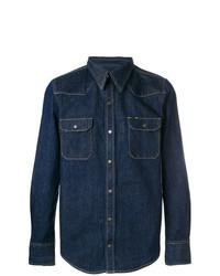 Chemise en jean bleu marine Calvin Klein 205W39nyc
