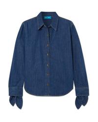 Chemise en jean bleu marine M.i.h Jeans