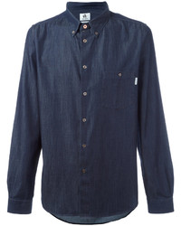 Chemise en jean bleu marine Paul Smith