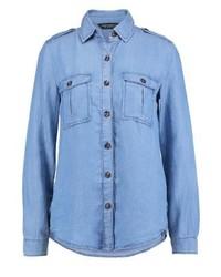 Chemise en jean bleue claire Dorothy Perkins