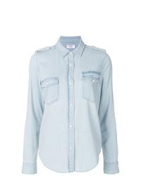Chemise en jean bleue claire Frame Denim