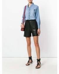 Chemise en jean bleue claire Isabel Marant Etoile