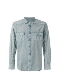 Chemise en jean bleue claire Jacob Cohen