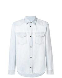 Chemise en jean bleue claire Maison Margiela