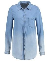 Chemise en jean bleue claire Tiffosi