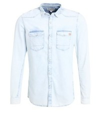 Chemise en jean bleue claire Tom Tailor