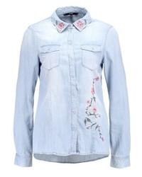 Chemise en jean bleue claire Vero Moda
