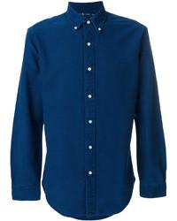 Chemise en jean bleue marine Polo Ralph Lauren