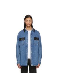 Chemise en jean bleue Alexander Wang