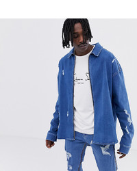 Chemise en jean bleue ASOS DESIGN