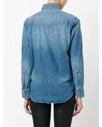 Chemise en jean bleue Current/Elliott