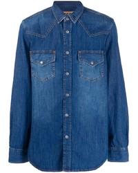 Chemise en jean bleue Diesel
