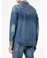 Chemise en jean bleue Valentino