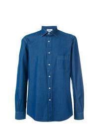 Chemise en jean bleue Fashion Clinic Timeless