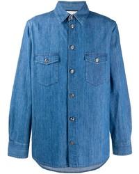 Chemise en jean bleue Gucci
