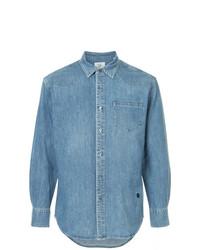 Chemise en jean bleue Kent & Curwen