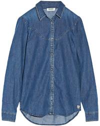 Chemise en jean bleue Kenzo
