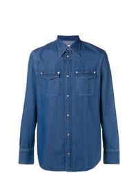 Chemise en jean bleue Maison Margiela