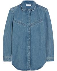 Chemise en jean bleue MiH Jeans