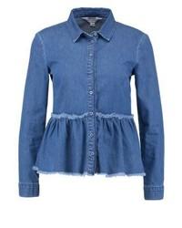 Chemise en jean bleue Miss Selfridge