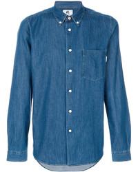 Chemise en jean bleue Paul Smith