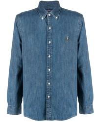 Chemise en jean bleue Polo Ralph Lauren